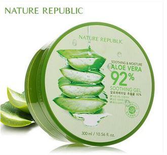 韩国Nature Republic自然乐园芦荟胶补水面霜300ml