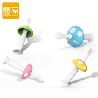 牙刷软毛硅胶乳牙葆婴宝宝儿童幼儿训练新生蔓儿0-1-2-3岁