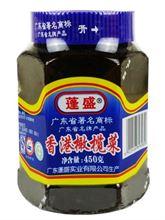 潮汕特产吃的粥小菜美食蓬盛香港橄榄菜450g*1瓶